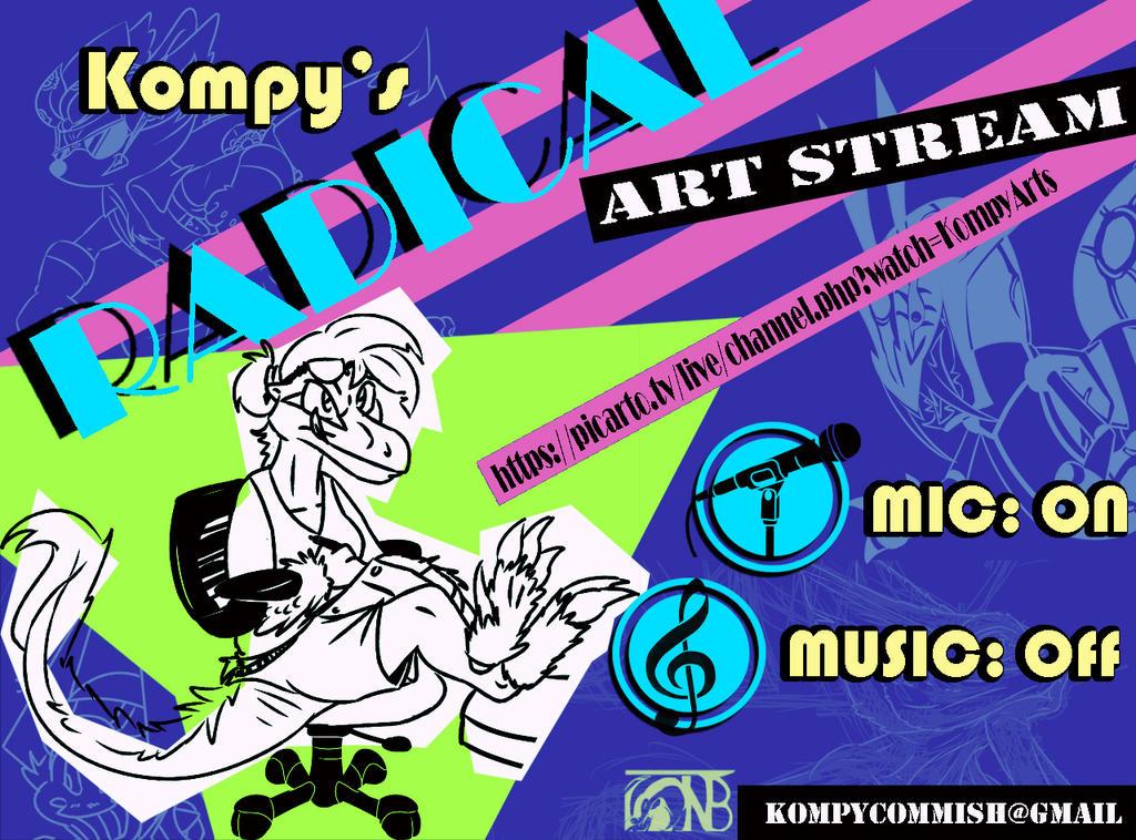 KompyArtStreamRAD by kompy