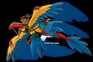 [Collab] Pokemon Sky Race - Tanuki and Arkea