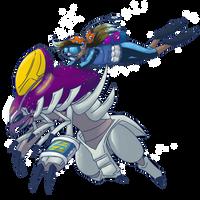 [Collab] Pokemon Sky Race - Saleena and Miyarei