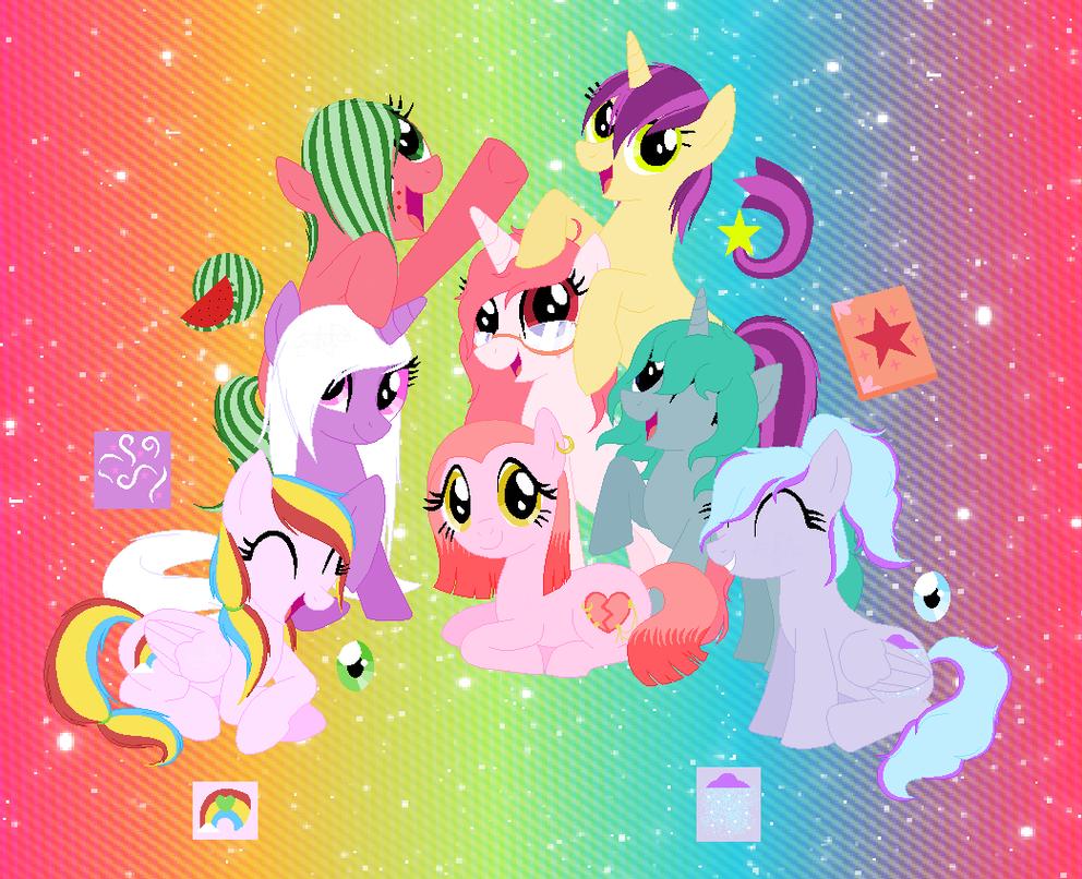 My Little Pony: fixed OCs by EddaAkatsukiller