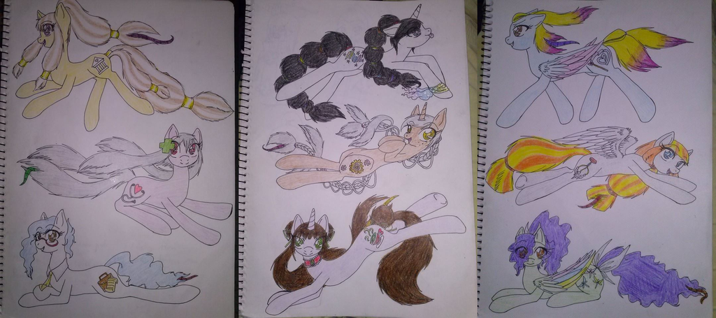 My Little Pony: hair mouth/snake mouth adoptables by EddaAkatsukiller