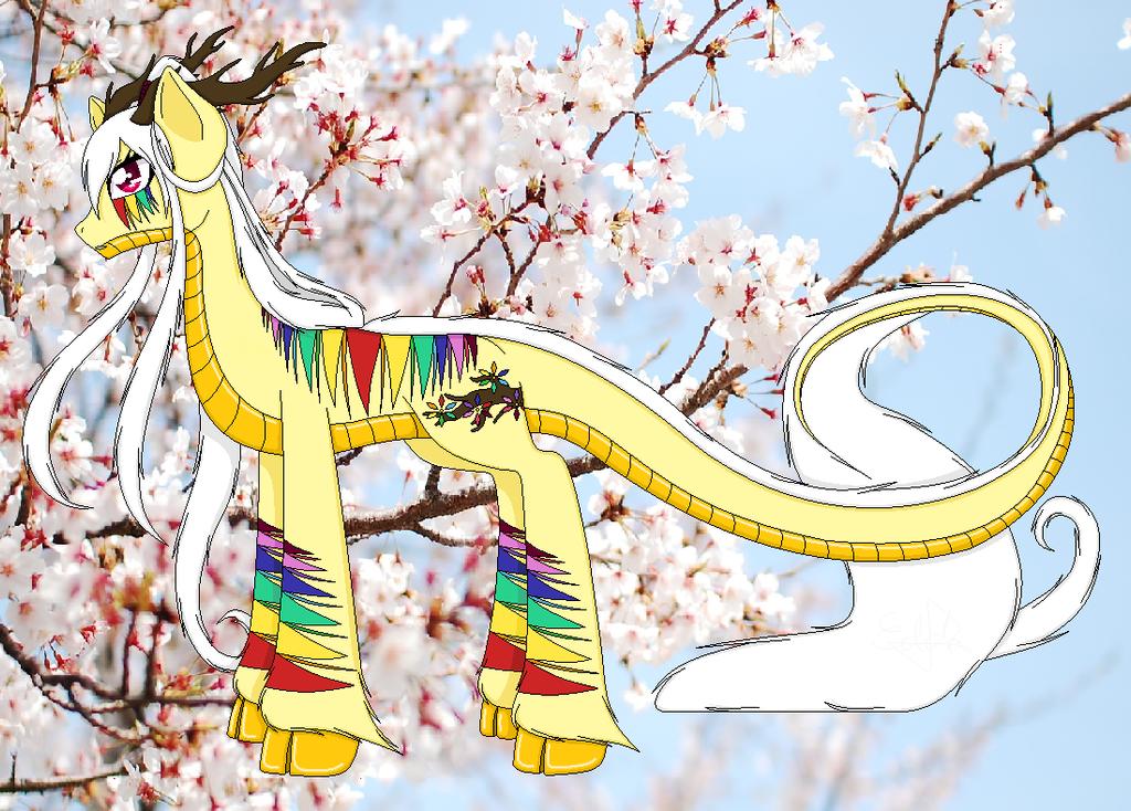 My Little Pony: my OC Karina by EddaAkatsukiller