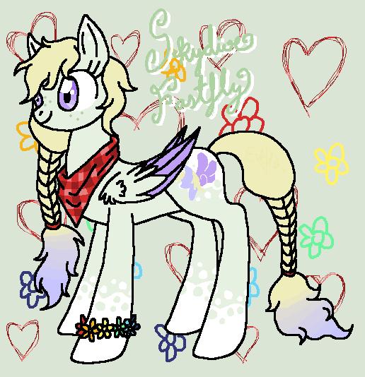 My Little Pony OC: Skydive fastfly by EddaAkatsukiller