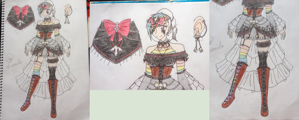 My Little Pony: Pearl's gala dress contest design by EddaAkatsukiller