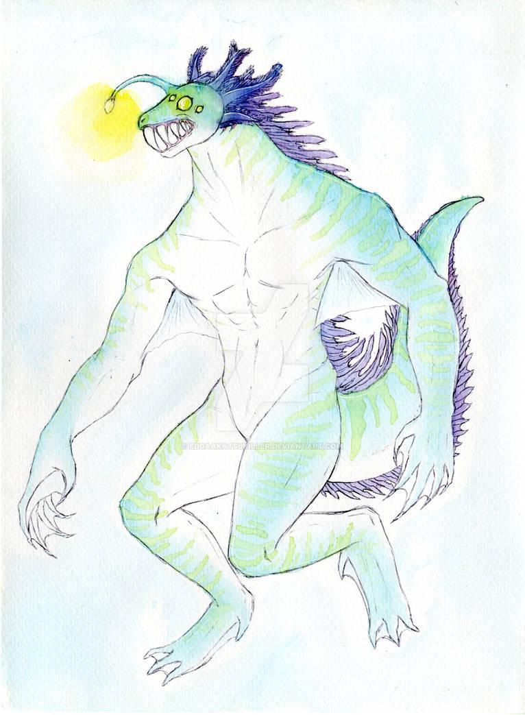 Alien concept design: Axel