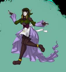 The elven bard, Eddith!