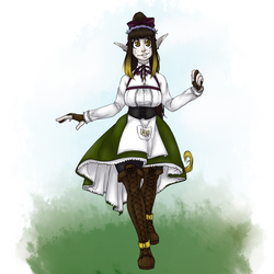 Eddith's second outfit