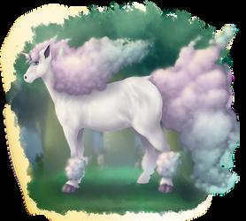 Ponyta in galarian form