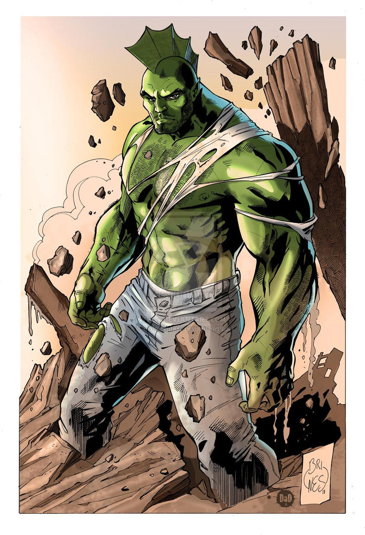 Savage Dragon By PhilippeBriones