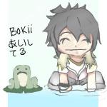 bokii loves frogs by Pharen