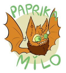 SPOOPY PAPRIKA MILO by FluffyPaw0306