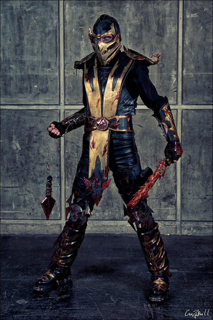 Mortal Kombat : Scorpion by crazyball