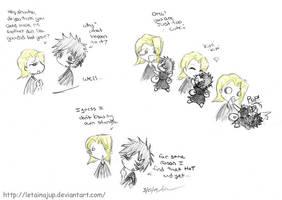 Hisagi's Gift to Kira Part2 by letainajup