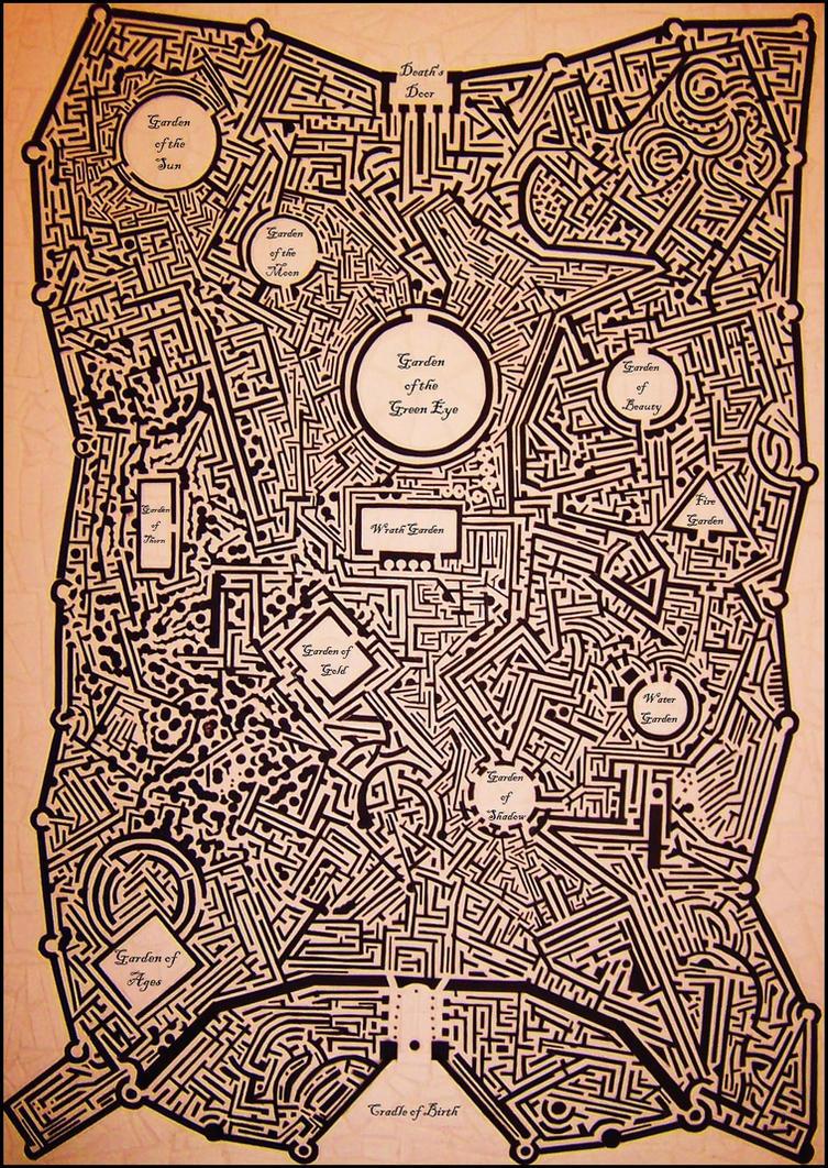 Horlin Maze by LongHomeFox