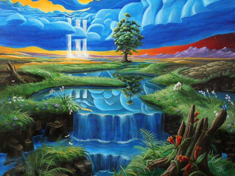 River of Life by DaveMishra