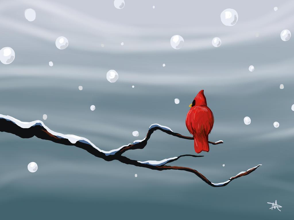 Cardinal by LongHomeFox