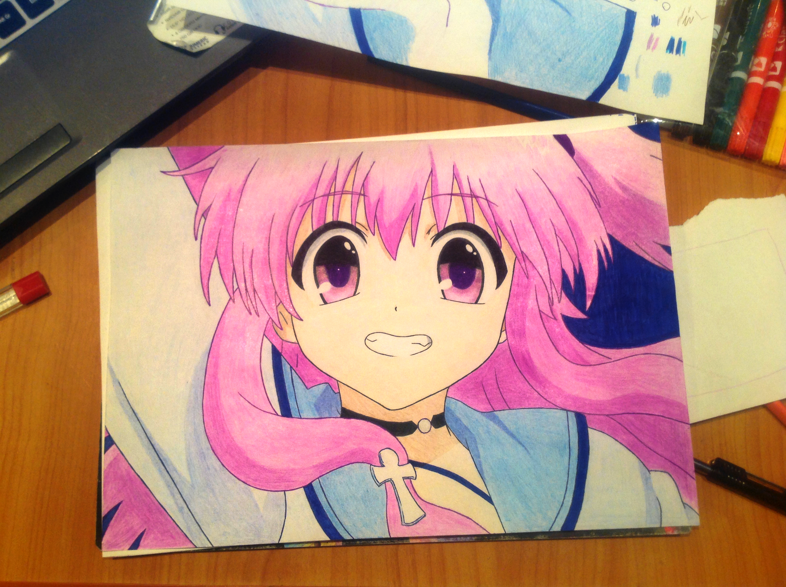 yui nyan color drawing by ds51 a on deviantart