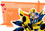 Transformers robots in disguise Bee
