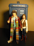 Fourth Doctor and Sarah Jane