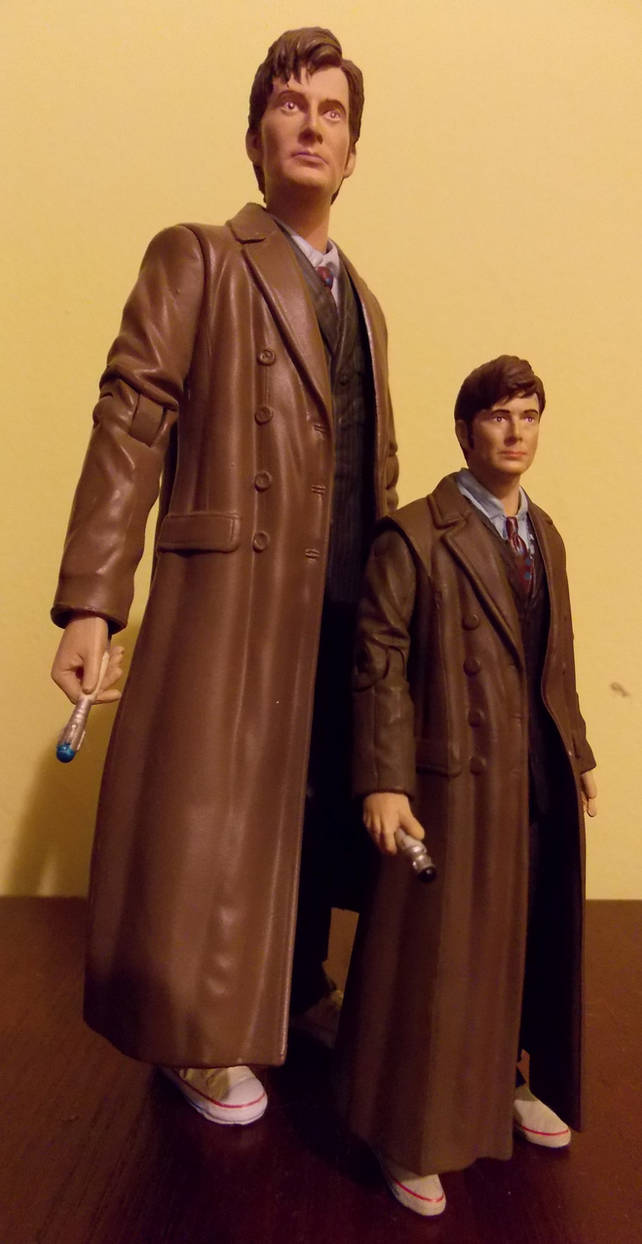10th Doctor and Mini-Me Doctor