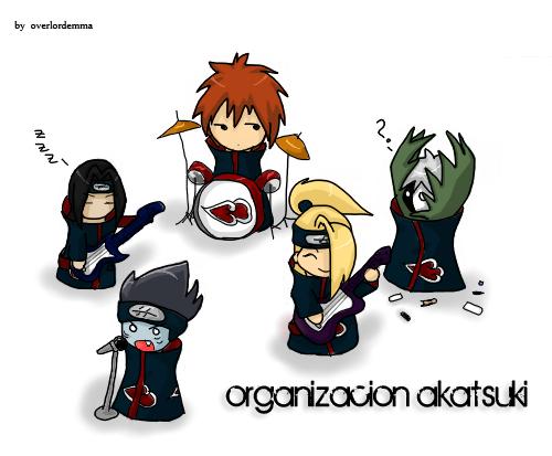 Organizacion Akatsuki! by overlordemma