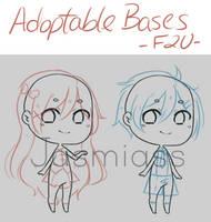 F2U Adoptable Base Pack by Jasmiass