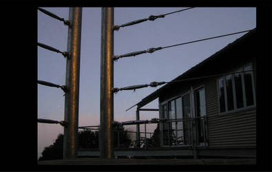 Dawn balcony by jayware