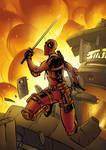 Deadpool Fanart -Colored