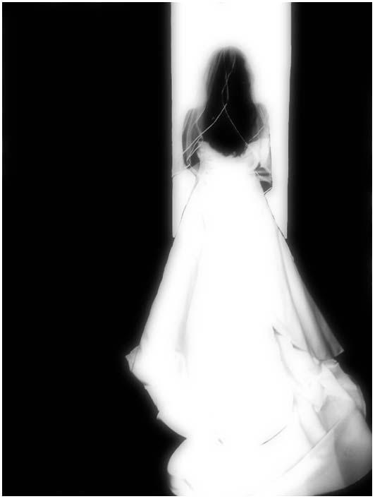 black and white bride by devilicious
