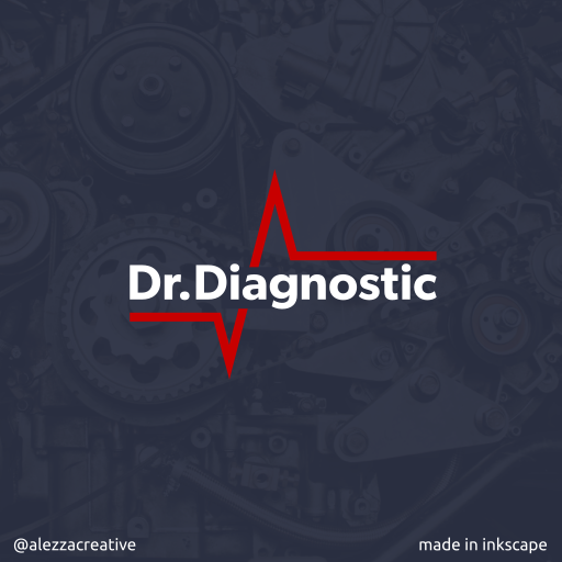 Dr.Diagnostic logo by alezzacreative