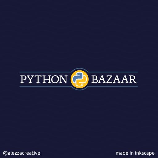 Python bazzar logo by alezzacreative