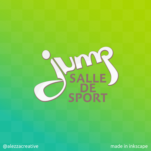 Jump logo by alezzacreative