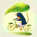 Leaf bicycle