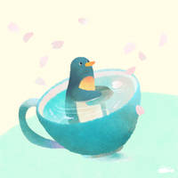 Spring Coffee Cup