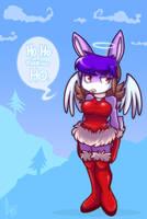 Im your xmas angel by vaporotem
