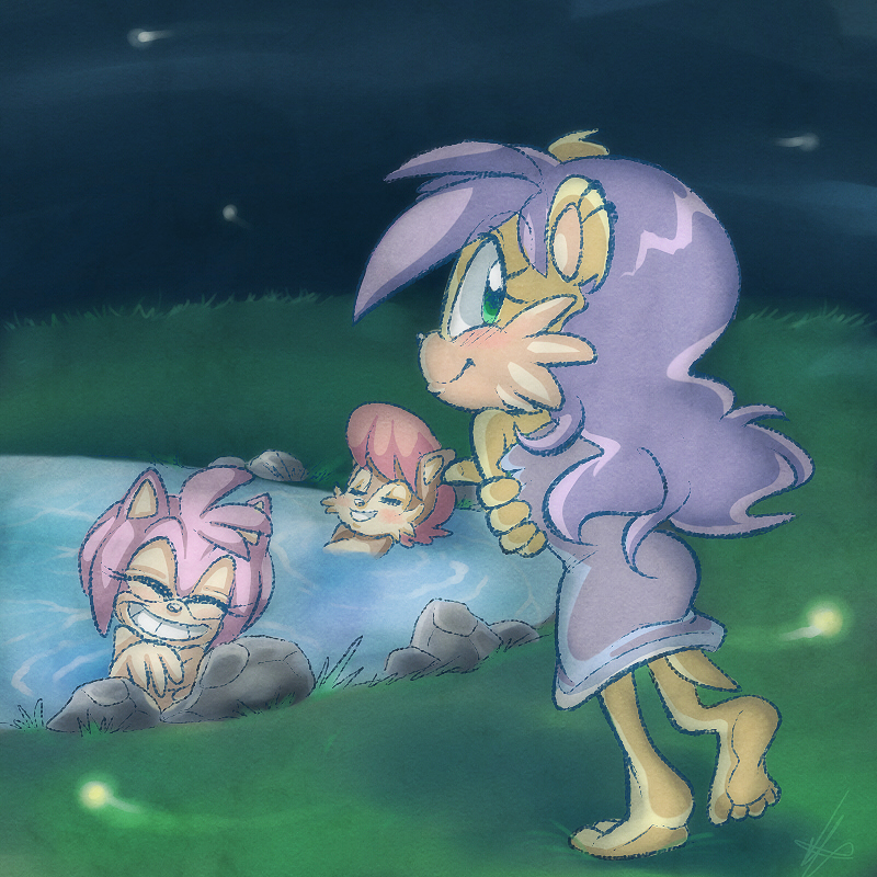 Night bath by vaporotem