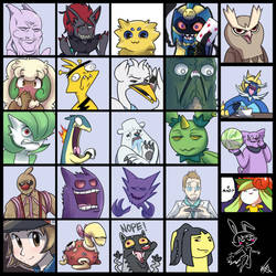 Pokemon Draw Thread 10 by vaporotem
