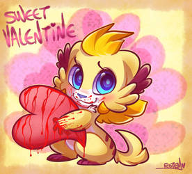 Sweet Valentine by vaporotem