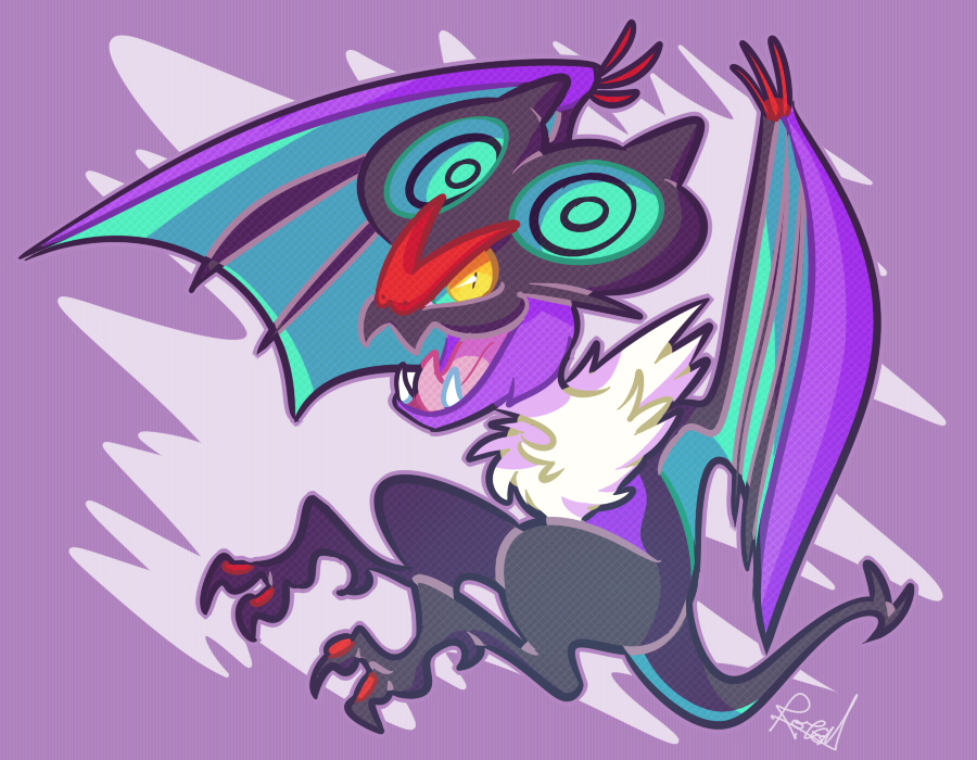 Noivern by vaporotem
