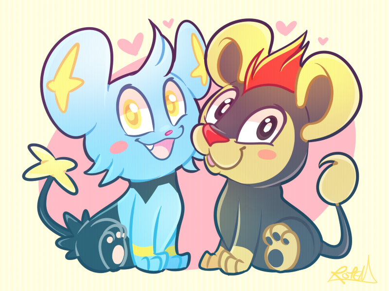 Baby Lions by vaporotem