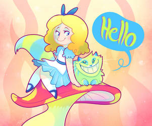 Hello Alice by vaporotem