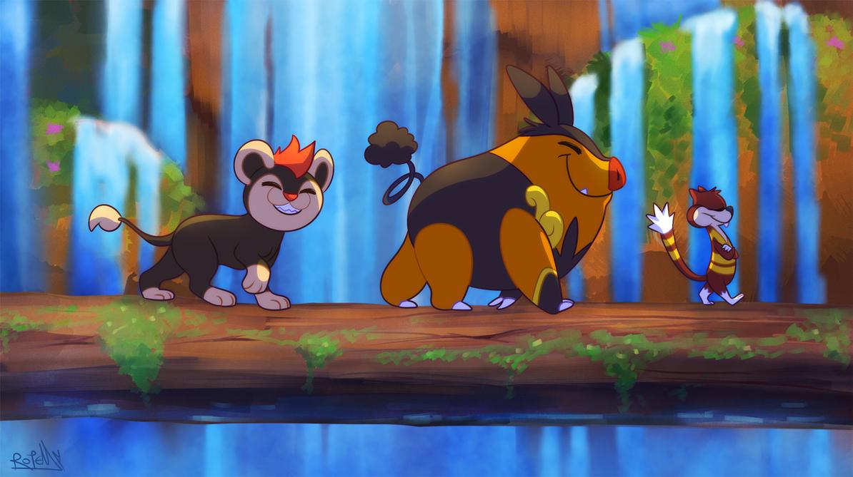 La influencia del rey león en el mundo pokemón Lionpokemon2_copy_by_vaporotem-d6m9x80