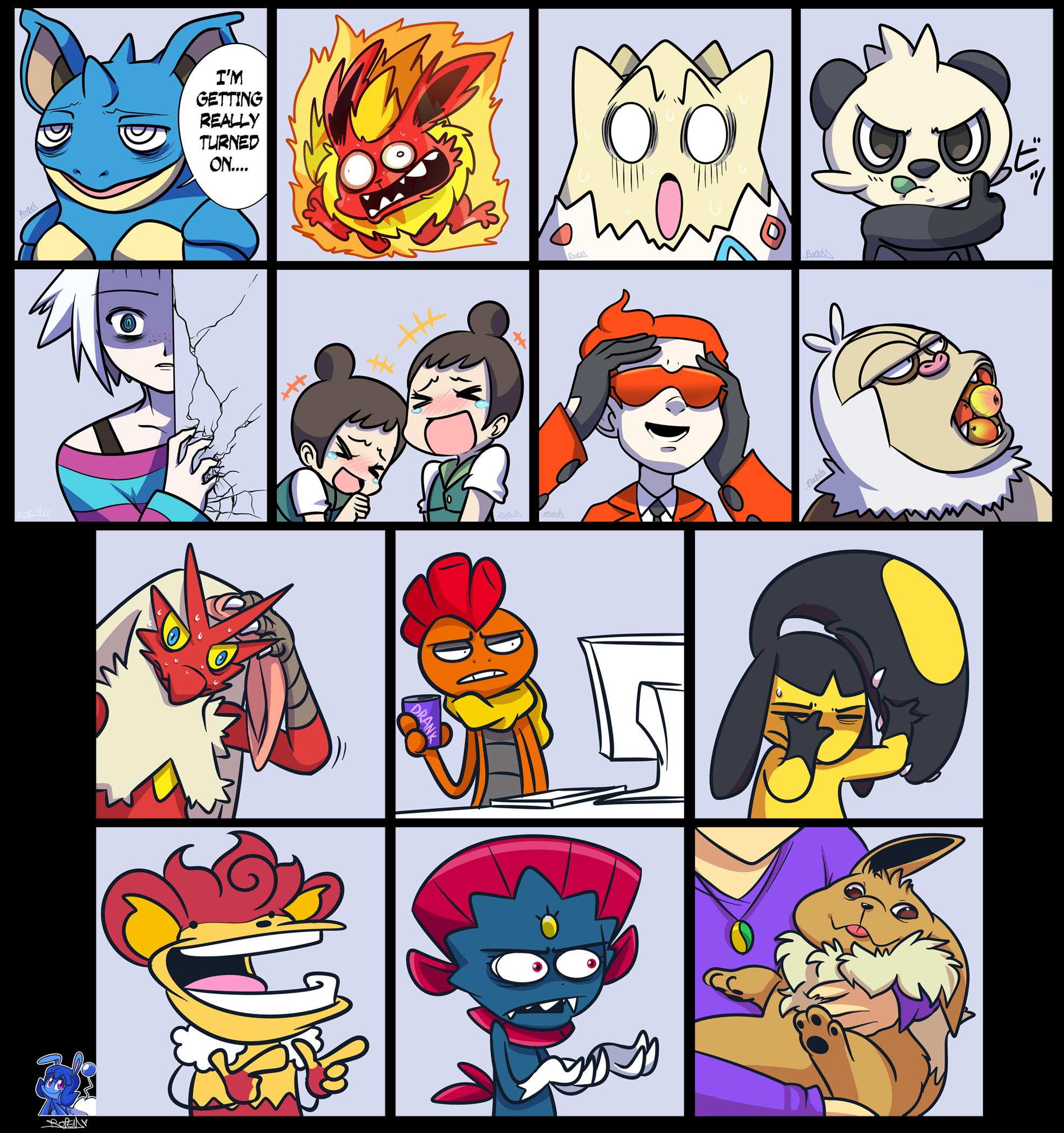 Pokemon Draw Thread 13 by vaporotem