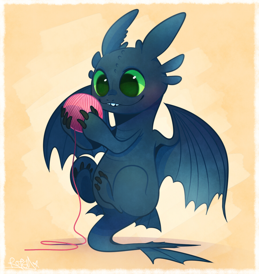 Toothless by vaporotem