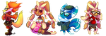 Pokemission: We are so fab by vaporotem
