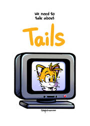 Cover_We need to talk about Tails by vaporotem