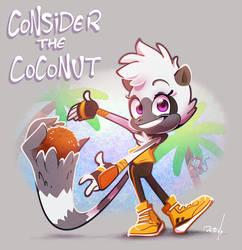 Consider the lemur by vaporotem
