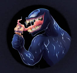 Venom Ice Cream by vaporotem