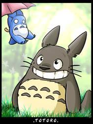 :Totoro: by vaporotem
