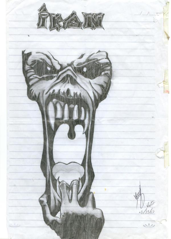 Mascote Eddie by victorsk8man